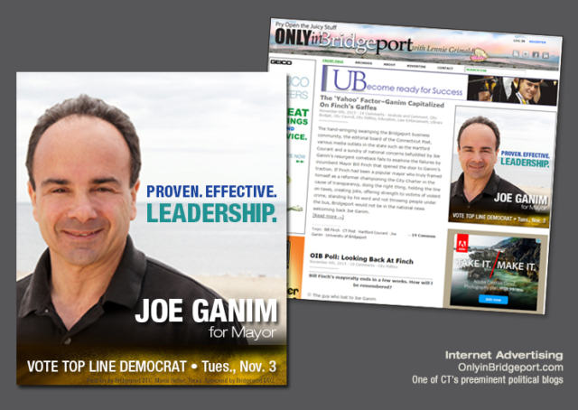 political campaign web ad Joe Ganim