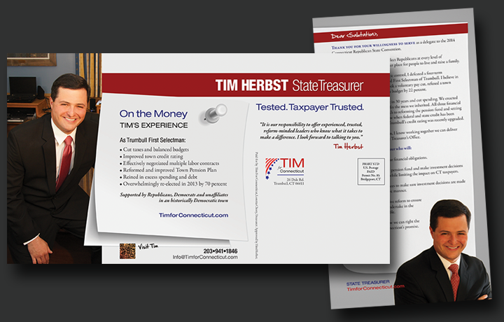 political campaign direct mail Tim Herbst