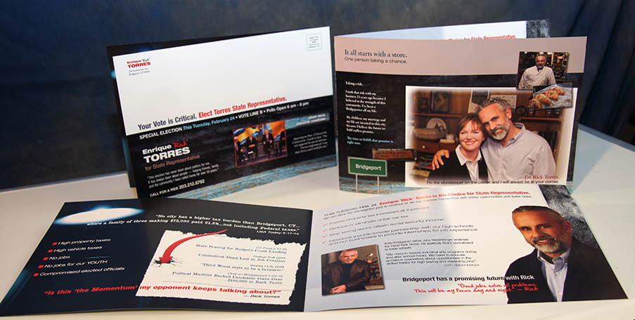 political campaign direct mail state representative